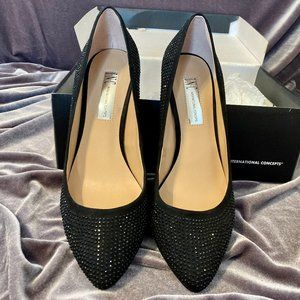 I.N.C. Black Studded Heels